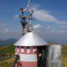 Instalare sistem repetor voce+digital RVSU in Ciucas